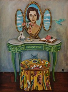 Art+and+Quote+For+Today,+painting+by+artist+Catherine+Nolin