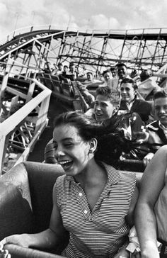 Coney Island, 1950s.   Photo by Harold Feinstein.