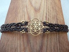 Seed of life The power of Sacred Geometry Macrame от LunaticHands