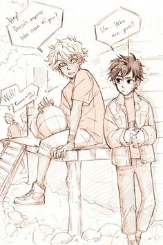 Younger Solangelo ^^-- The art style is so pretty!!