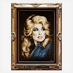 My design inspiration: Dolly Parton Hollywood Velvet on Fab.