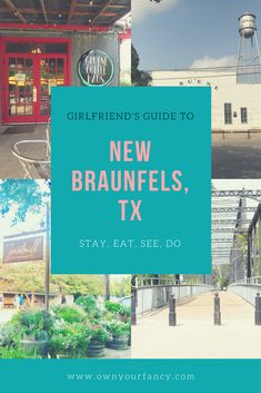 Headed to New Braunfels, TX? This small Texas city is full of charm and its the perfect destination for you and your girlfriends to have a memorable getaway. Texas Roadtrip, Texas Travel, New Braunfels Texas, Texas Girls, Singles Holidays, Fairfield Inn, Single Travel, Girls Weekend, Mexico Travel