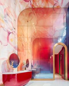 Nordic Bathroom by LM Design Studio - Home Design and Decoration Interior Exterior, Home Interior Design, Exterior Design, Interior Architecture, Interior Decorating, Retail Interior, Classical Architecture, Diy Decorating, Modern Interior
