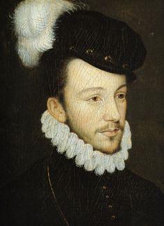 HENRI III de Valois (1551-1589) - King of France 1575 untill 1589 - married to LOUISE DE LORRAINE