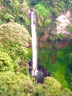Cimahi Waterfall, Bandung, Indonesia Unity In Diversity, Archipelago, Ponds, Jakarta, Continents, Java, Waterfalls, Places Ive Been, Exotic