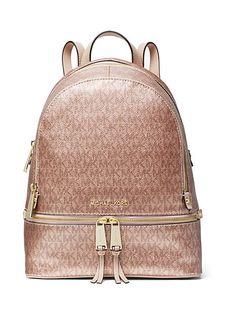 6add7fcd54728 MICHAEL Michael Kors Rhea Medium Logo Backpack