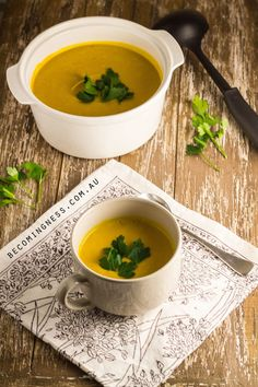 This Roast Pumpkin & Coconut Soup is my modern take on a classic soup and is vegan, paleo, gluten free and dairy free.