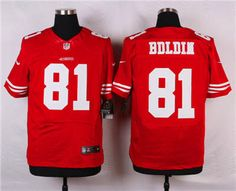 Nike San Francisco 49ers  81 Anquan Boldin Red Elite Jersey Kansas City  Chiefs fc3fd0553
