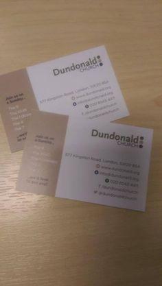Nice church business cards