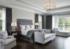 Transitional Bedroom Ideas - We have actually included so many bedroom layouts already and for certain, you still such as to see more because we never ever obtain enough of bedroom interior decoration ideas that . Transitional Home Decor, Transitional Living Rooms, Transitional Lighting, Transitional Kitchen, Transitional Style, Home Decor Bedroom, Bedroom Furniture, Master Bedroom, Bedroom Ideas