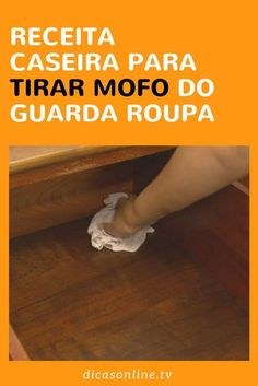 Receita Natural para limpar e eliminar o mofo do guarda-roupa Cleaning Hacks, Cleaning Supplies, Diy Organisation, Flylady, Rest, Green Cleaning, Garden Projects, Clean House, Helpful Hints