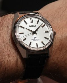 Grand Seiko 44GS Limited Edition Watch Hands-On