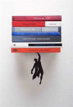 Books and Heroes – Les excellents serre-livres créatifs d'Artori Design