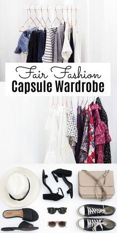 fair fashion capsule wardrobe