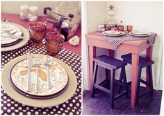 Love this dinning room table set