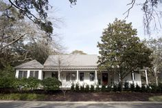 Heather A. Wilson's new build of classic bungalow in Old Village, Charleston, South Carolina, Remodelista