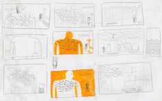 Development work for 'Mon petit frère invisible / My invisible little brother' by Ana Pez