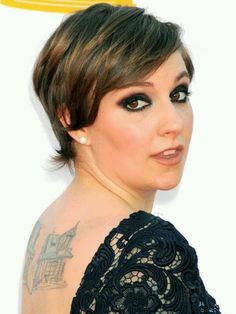 Lena Dunham looks awesome.