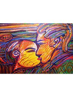 Beijo X - Serigrafia