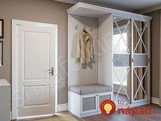 European Closets by Design – Closet Design Wardrobe Door Designs, Closet Designs, Bedroom Furniture, Furniture Design, Foyer Design, House Design, Bedroom Closet Design, Simple Closet, Cupboard Design
