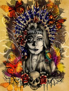 Indian Mexican Skull | Flickr – Compartilhamento de fotos!