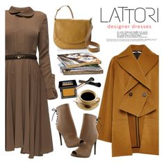 """LATTORI designer dresses"" by helenevlacho ❤ liked on Polyvore featuring Lattori, Rosetta Getty, Liliana, Liebeskind, Make and lattori"