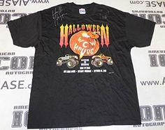 Hulk Hogan The Giant Big Show Signed 1995 WCW Halloween Havoc Shirt WWE - PSA/DNA Certified - Autographed Wrestling Misc @ niftywarehouse.com #NiftyWarehouse #Halloween #Scary #Fun #Ideas