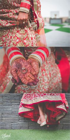 Lovely details from the bride // Indian Wedding (Punjabi x Sri Lankan)