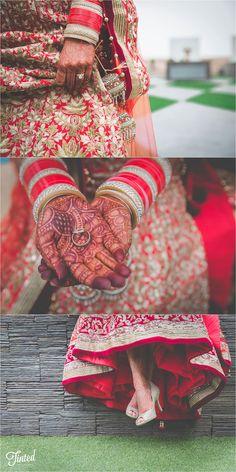 Lovely details from the bride // Indian Wedding (Punjabi x Sri Lankan)