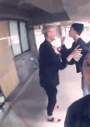 Tao & Sehun Fighting. Well... if you can call it fighting :D and well...just amber being amber.
