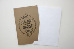 DIY Christmas Cards + free printable