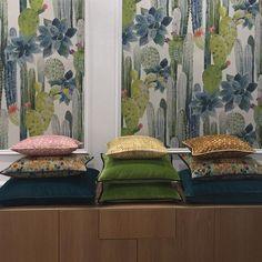 #napatelier #salonedelmobile #fuorisalone #fabric #wallpaper #pierrefrey #interiordesign #interior #interiordecor #decor...