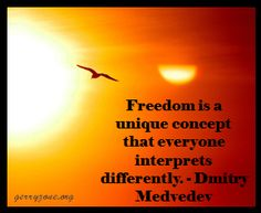 How do YOU define freedom? What are you doing today to increase yours?