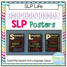 FREE This is a set of three inspirational SLP Posters. They were created to brighten up your speech room with a bit of positivity! Articulation Activities, Speech Therapy Activities, Work Activities, Speech Language Pathology, Speech And Language, Play Therapy Techniques, Speech Room, Social Thinking, Primary Music