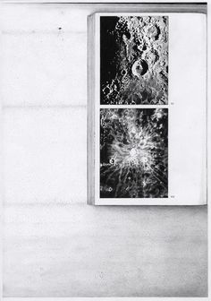 JENNY AKERLUND, SELENOGRAPHY II 2010-2011: drawn reproductions of photocopies