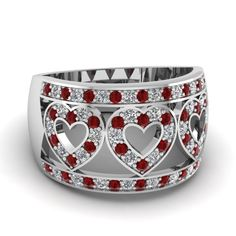 white-gold-round-red-ruby-allied-hearts-wedding-band-with-white-diamond-in-pave-set-FD63297BGRUDR-NL-WG