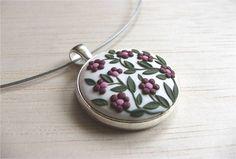 Boho bijoux-Boho collier Boho romantique par VintageFloralJewel