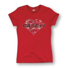 Case IH Camo Heart Short Sleeve Tee | USFarmer.com