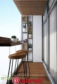 Smart Idea of Turning a Small Balcony Into a Mini Cafe and Bar Condo Balcony, Balcony Bar, Modern Balcony, Small Balcony Design, Small Balcony Decor, Apartment Balcony Decorating, Apartment Balconies, Balcony Ideas, Balcony Garden