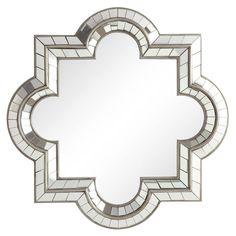 Nihoa Silver Casbah Octagon Accent Wall Mirror | Overstock.com
