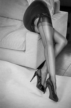 Encased in 50 pairs of pantyhose