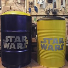 Star Wars oil drum seat. Instagram.com/oildrum_design