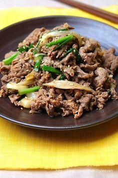 불고기~불고기 황금레시피 – 레시피 | Daum 요리 Korean Dishes, Korean Food, Korean Traditional Food, Good Food, Yummy Food, Food Menu, Food Design, No Cook Meals, Asian Recipes
