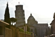 Pisa in the evening