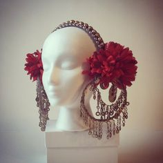 The Rachel - MADE TO ORDER tribal fusion inspired head dress