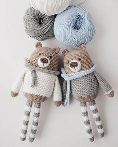 Mesmerizing Crochet an Amigurumi Rabbit Ideas. Lovely Crochet an Amigurumi Rabbit Ideas. Crochet Baby Toys, Crochet Diy, Crochet Bear, Crochet Patterns Amigurumi, Crochet Gifts, Crochet Dolls, Knitting Patterns, Blanket Crochet, Tutorial Amigurumi