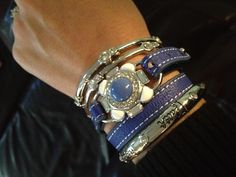 Stack 'em up! Love this new wrap bracelet! Mix it with pieces you already have!
