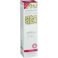 Andalou Naturals Cleansing Foam - 1000 Roses - 5.5 oz - For Delicate and Dry Skin Andalou Naturals Fruit Stem Cell Science renews skin at the cellular level, blending nature and knowledge for visible results. This refreshing rosewater cleansing foam, with Alpine Rose Stem Cells, gently loosens and lifts away make-up, impurities, and dull, dry surface cells that can clog pores. Pomegranate, rich in tannins and polyphenols, tones and tightens as moisture-binding humectants, hyaluronic acid…