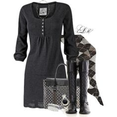 """""""Southern Winter"""" by tmlstyle on Polyvore"""
