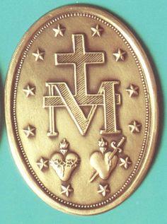 Miraculous medal--reverse side
